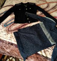Отдается в дар Туника и джинсовая ветровка