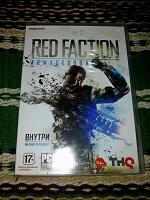 Отдается в дар Диск Red Faction Armageddon с бонусами
