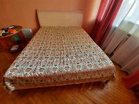Отдается в дар Кровать, матрас и покрывало