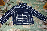 Отдается в дар Легкая тканевая курточка 42 размер