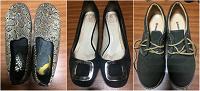Отдается в дар Туфли осенние ботинки женские, р-р 37-38
