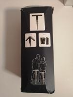 Отдается в дар Походный табурет — трость, складной походный стул