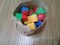 Отдается в дар Кубики и не только -для малыша.