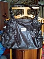 Отдается в дар Вместительная женская сумка из искуственной кожи