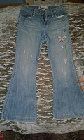 Отдается в дар джинси підлітку або худенькій дівчині