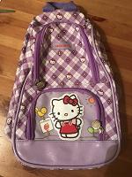 Отдается в дар Детский рюкзачок hello kitty, лямка на липучке