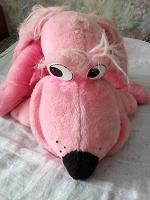 Отдается в дар Розовая собака большая