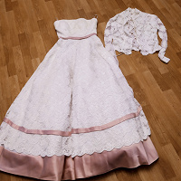 Отдается в дар Свадебное платье 44