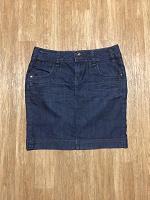 Отдается в дар Юбка джинсовая, размер 44