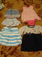 Отдается в дар Детские юбки и платья.