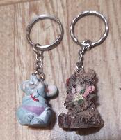 Отдается в дар Брелок Мышка и брелок Мишка.