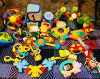 Отдается в дар Пакет игрушек для малышей