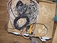 Отдается в дар телефонные шнуры