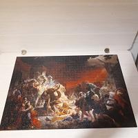 Отдается в дар паззл «Последний день Помпеи»