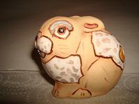 Отдается в дар Заяц статуэтка глина