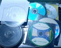 Отдается в дар CD-RW, DVD-R, коробки для дисков