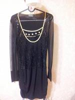 Отдается в дар Коктейльное/клубное чёрное платье