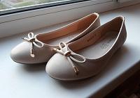 Отдается в дар Туфли-балетки 37 размера