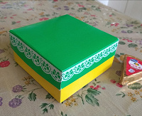 Отдается в дар Коробка для подарка, мелочей ручная работа