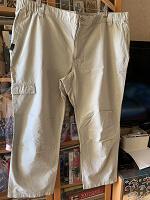 Отдается в дар Летние мужские брюки 56