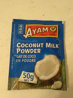 Отдается в дар Сухое кокосовое молоко