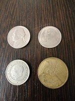Отдается в дар Монеты разных стран! Почта без компенсации