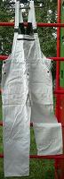 комбинезон белый джинсовый