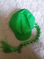 Отдается в дар Зелёная кепи с косой — тем, кто косой (: