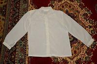 Отдается в дар Белая блузка 46 размер, винтаж