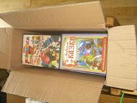 Отдается в дар коробка с детскими мультиками и фильмами