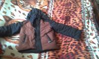 Отдается в дар Пуховая куртка на мальчика