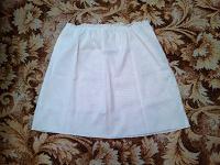 Отдается в дар Подъюбка белая, размер 52-54.