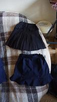 Отдается в дар Школьные юбочки на девочку