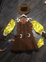 Отдается в дар Карнавальный костюм девушка ковбой