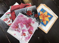 Отдается в дар Салфетки для декупажа цветочной тематики