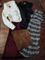 Отдается в дар Пакет женской одежды 46 размер