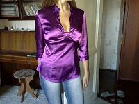 Отдается в дар Атласная блузка