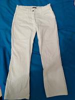 Отдается в дар Белые фирменные брюки М