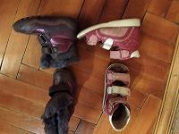 Отдается в дар обувь для девочки 23-24