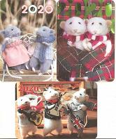 Отдается в дар Календарики с мышками