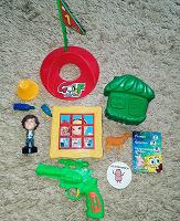 Отдается в дар Пакет игрушек на нескольких фото