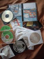 Отдается в дар Диски старые — софт и музыка