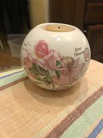Отдается в дар Подсвечник шар