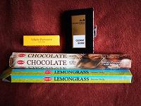 Отдается в дар Благовония-палочки и пробники нишевой парфюмерии