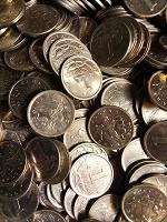 Отдается в дар Монеты 1 копейка РФ