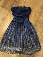 Отдается в дар нарядное платье на рост 116-122см