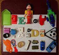 Отдается в дар Мелкие игрушки, детали