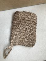 Отдается в дар Мочалка-мешочек для мыла из джута