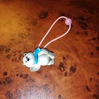 Отдается в дар Мишка олимпийский. Резинка для волос