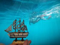 Отдается в дар Кораблик с моря